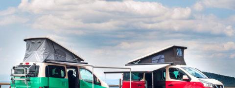 Gama Nissan Camper, viaja estando como en casa