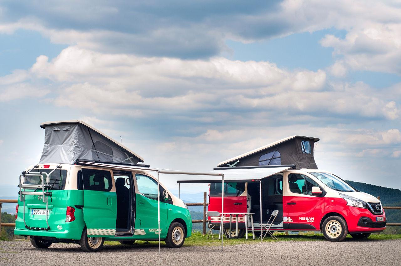 Gama Nissan Camper, la forma de viajar estando como en casa